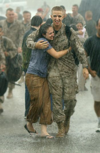 homecoming--It doesn't matter at all if its raining! Help us support MORE HOMECOMINGS! Visit http://www.bootcampaign.com