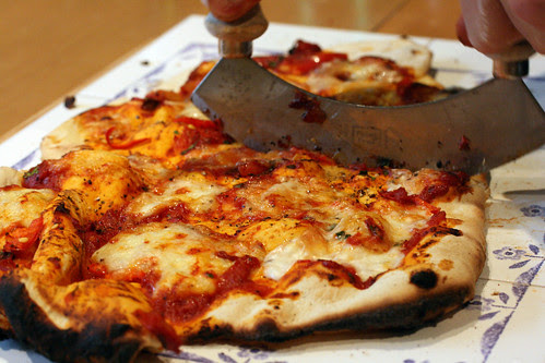 Tomato and mozzerella