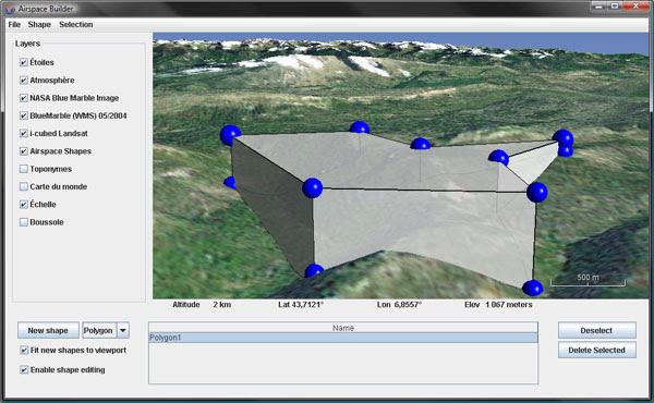 WWJ 0.6 Airspace builder