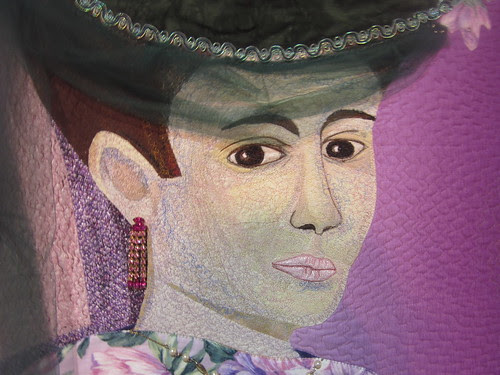 """""""Tribute to Matisse"""" by Rebecca Haley, close up"""