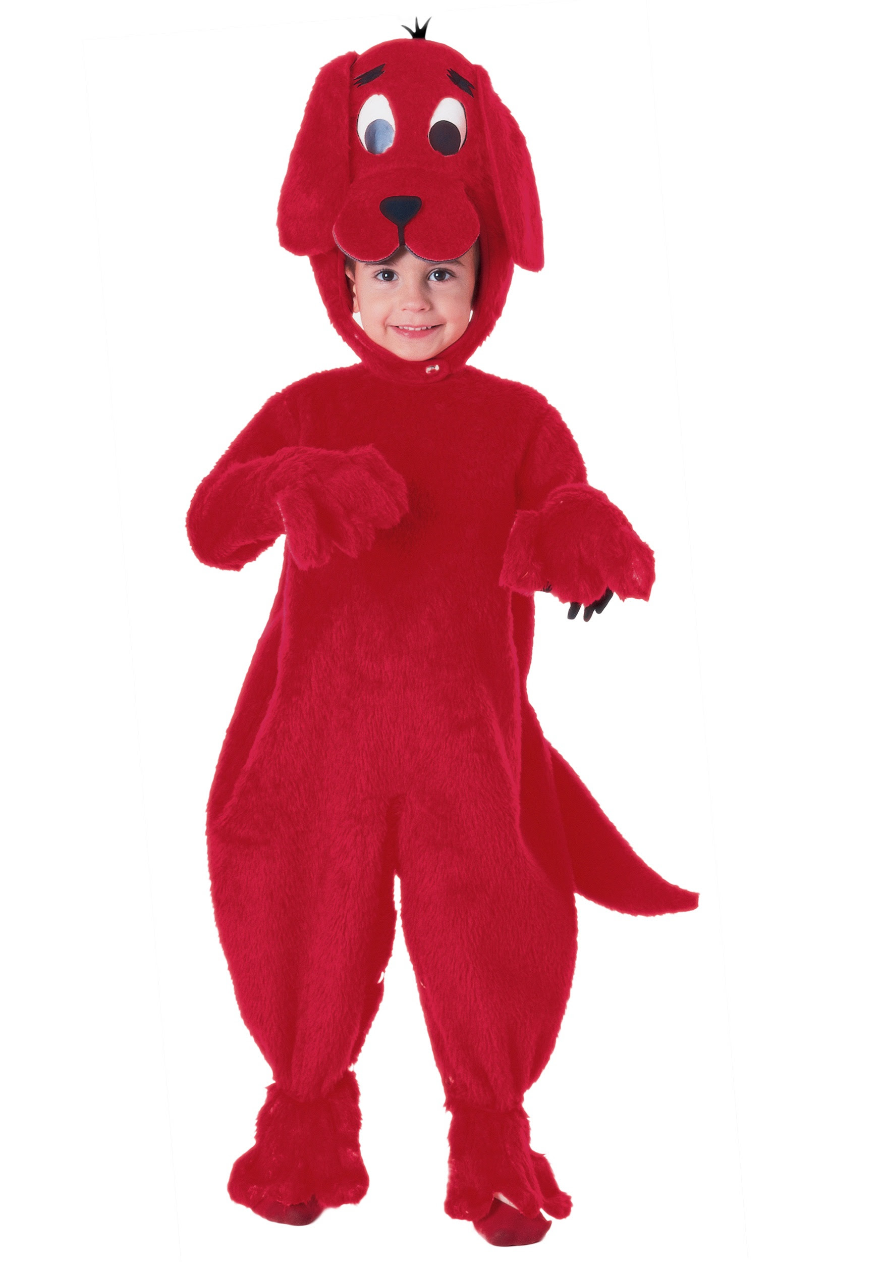 Deluxe Clifford The Big Red Dog Costume Halloween Costumes