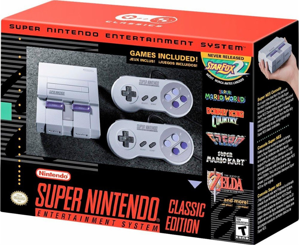 Here are a few places you can pre-order the SNES mini screenshot