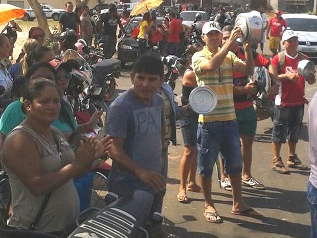 Professores não receberam salários de novembro e dezembro (Foto: Divulgação/Sintepp Alenquer)
