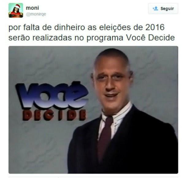Meme voto 8 (Foto: Reprodução/Twitter)