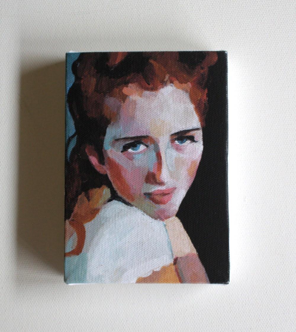 Kira/ tiny canvas  print