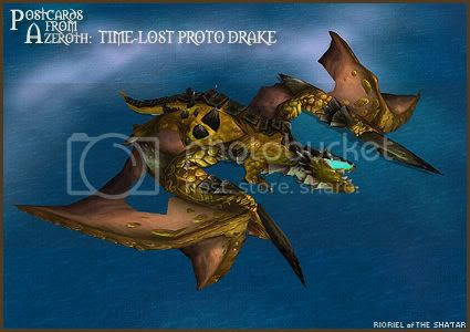 Postcards of Azeroth: Time-Lost Proto Drake, by Rioriel Ail'thera