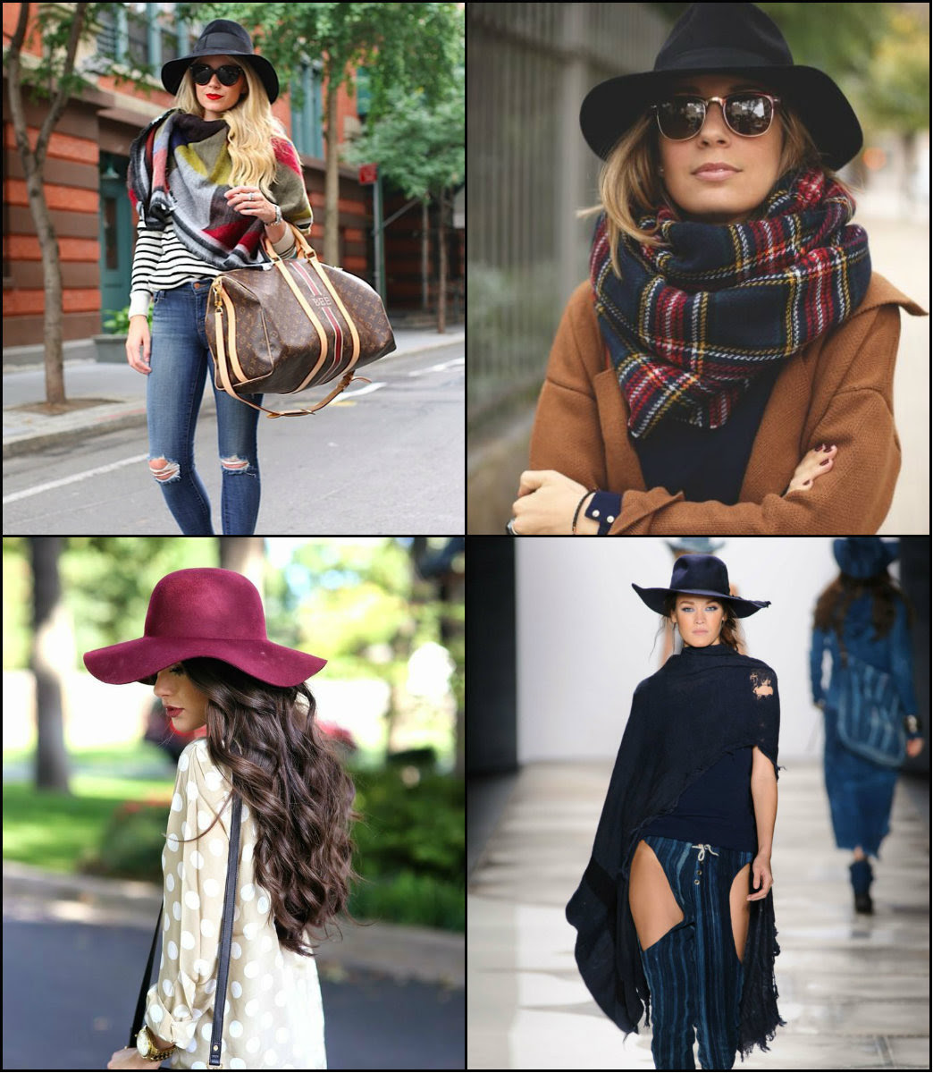Fall Winter 2016 2017 Hairstyles Amp Hats Long Hairstyles