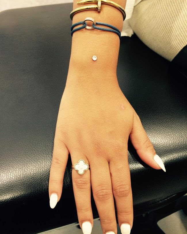 55 Elegant Microdermal Piercing Ideas All You Need To Know
