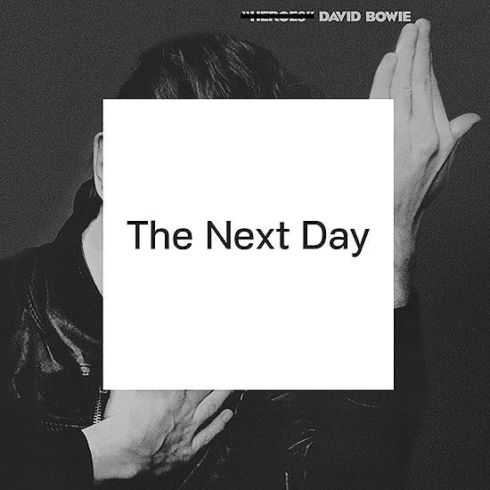 """Capa do disco novo de David Bowie, """"The Next Day"""", já disponível no iTunes"""