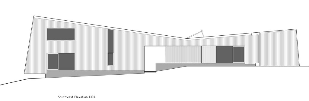 Drift Bay House, Kerr Ritchie Architects