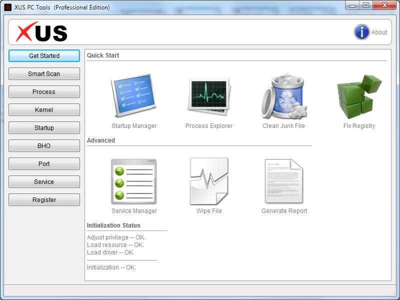 XUS PC Tools