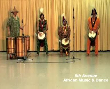 African Music and Dance   Fifth Avenue Entertainment