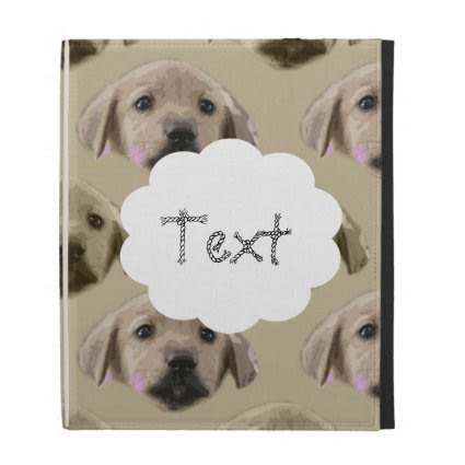 Cute Puppy Pattern iPad Folio Covers