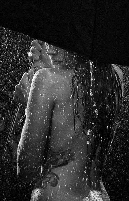 A minha chuva!