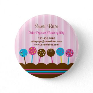 Cake Pops Bakery Button