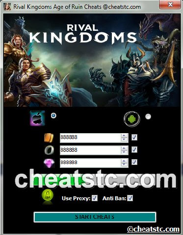 Rival Kingdoms Age of Ruin Cheats android proof