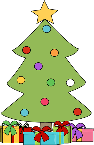 Free Christmas Tree With Presents Clipart Download Free Clip Art