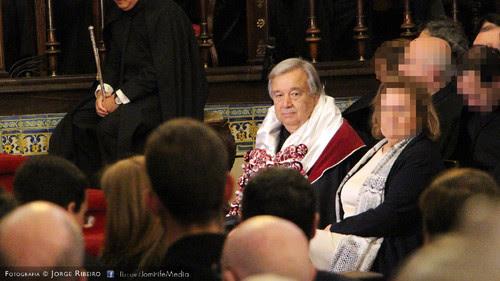 Doutoramento Honoris Causa de António Guterres pela Universidade de Coimbra a 22 de maio de 2016