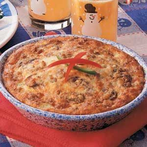 Warm-You-Up Sausage Quiche Recipe