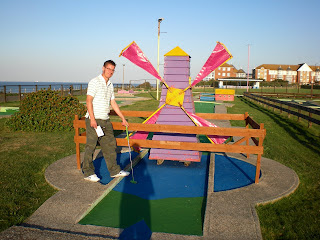 Crazy Golf in Margate