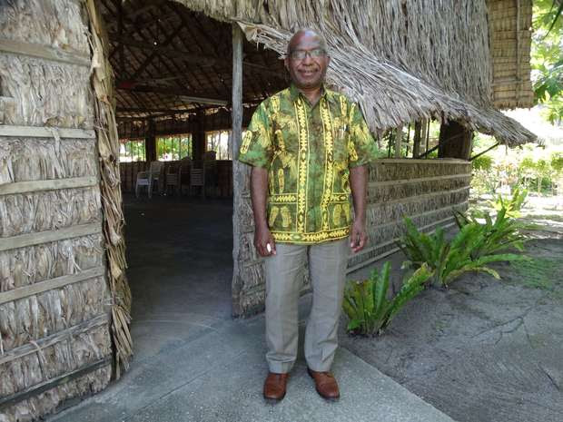 West Papua's Dr Octo Mote in Majuro