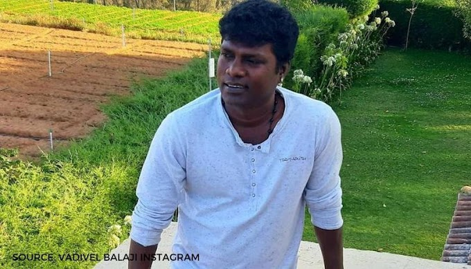 Tamil actor Vadivel Balaji passes away