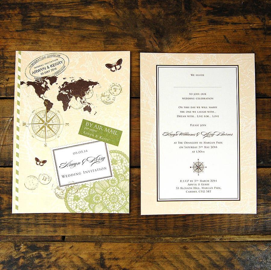 Different wedding Invitations Blog: Wording wedding invitations abroad