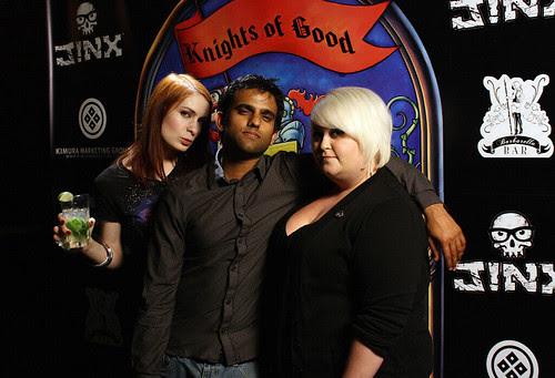 Felicia, Sandeep and Robin