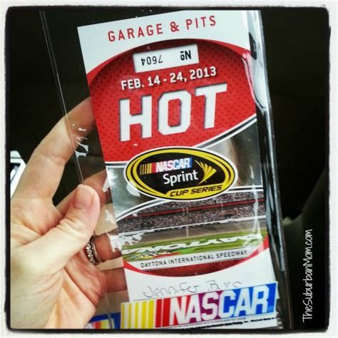 Wordless Wednesday: My First NASCAR Race   Daytona 500