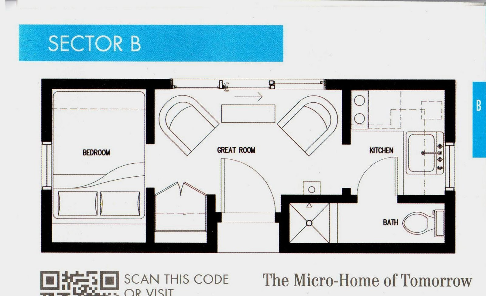 Micro Homes Living Small Floor Plans