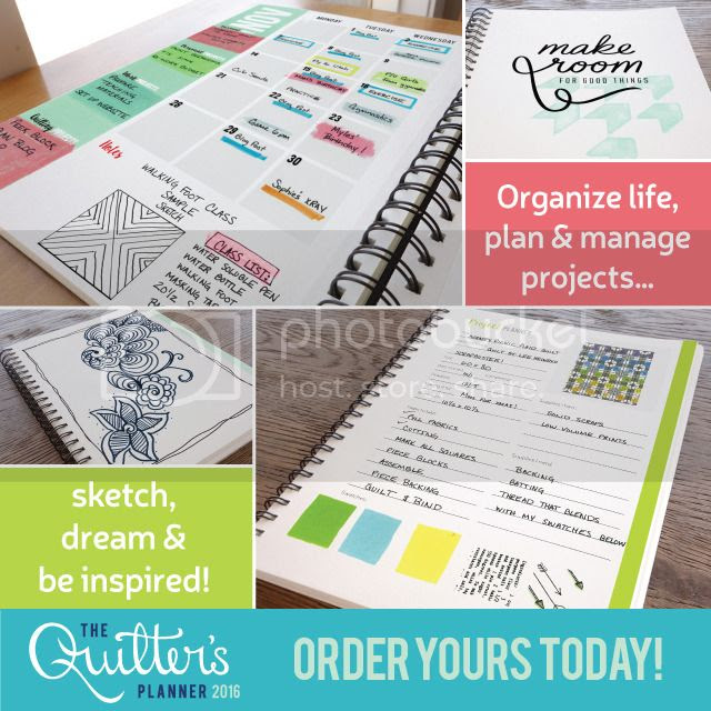 2016 Quilter's Planner