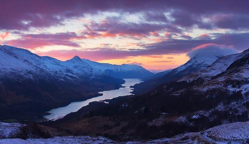 Last light, a winters eve by Ally Mac