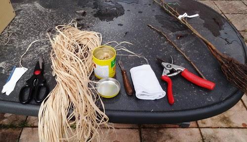 Veredelung Werkzeug Material