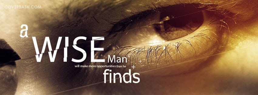 A Wise Man Facebook Cover Coverbashcom