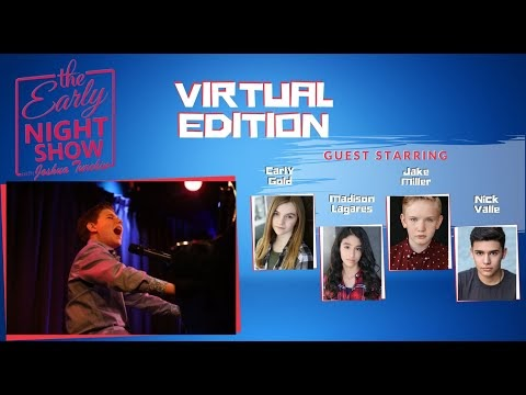 The Early Night Show With Joshua Turchin (Carly Gold, Jake Miller, Madison Lagares, Nick Valle)