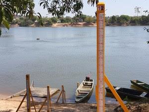 Rio Machado em Ji-Paraná, RO (Foto: Pâmela Fernandes/G1)