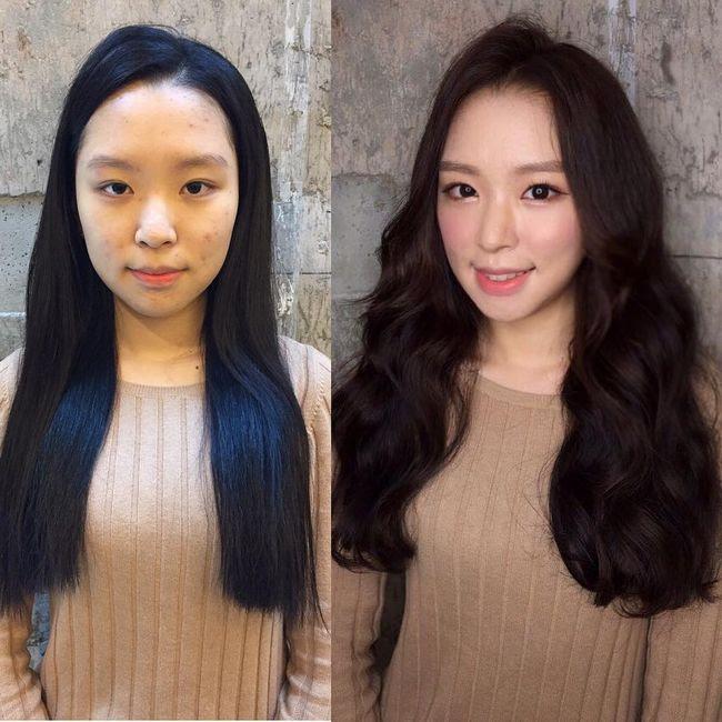 Maquillaje antes después resultados (12)