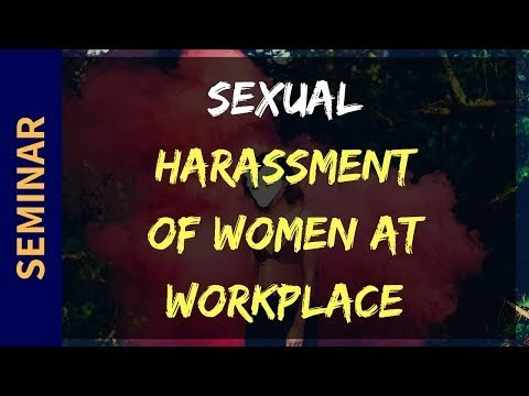 Against Sexual Harassment
