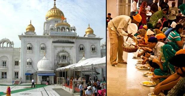 Delhi Gurudwara Provides Food To the Farmers Gathered Across India