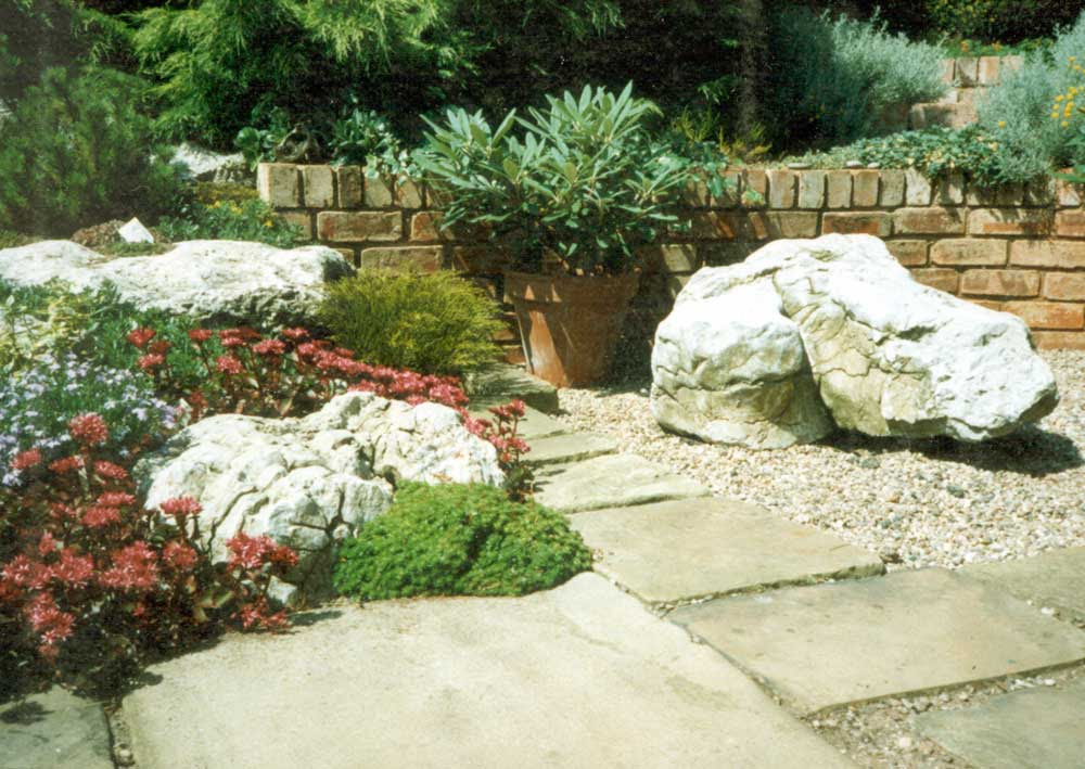 Garden Design at Ashmead . Price | Landscape Planning and ...