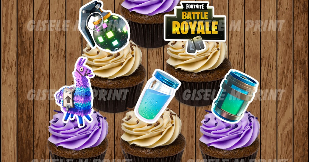Fortnite Embosser Battle Royale Gaming Floss Fondant Decor  Birthday Boogie Bomb