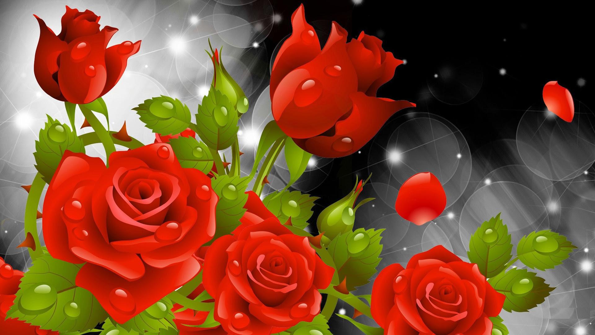 Rose Flower Wallpapers For Desktop 48 Images