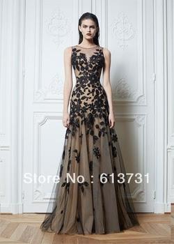 Long evening dresses lace