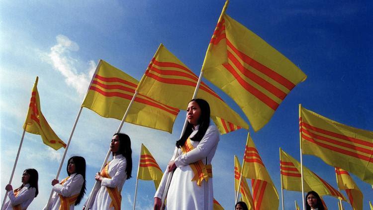 South Vietnamese flag endures
