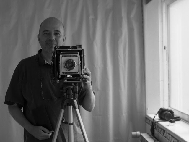 Me and Graflex Speed Graphic