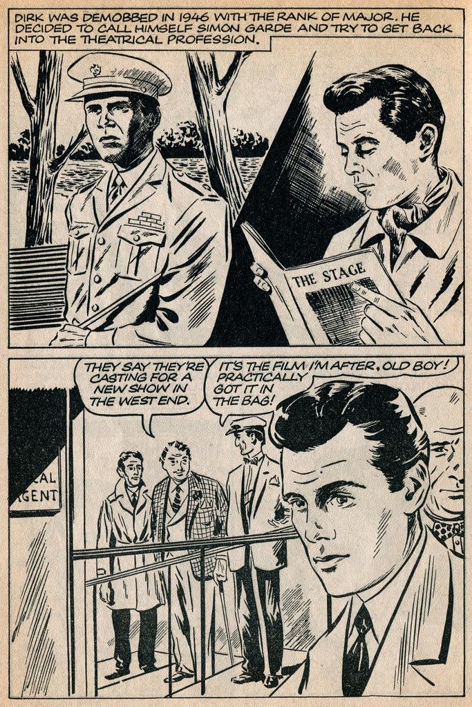 Dirk Bogarde comic 9