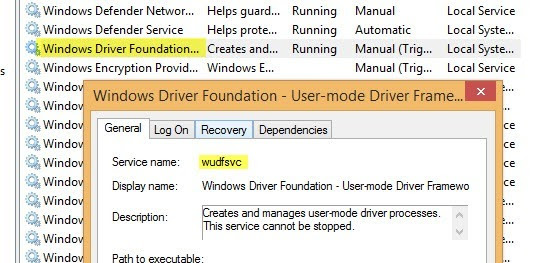 windows driver foundation