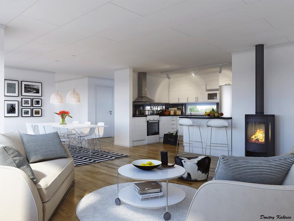 Kitchen Open Plan On Living Room Ideas. Openplan Dining Room Ideas ...