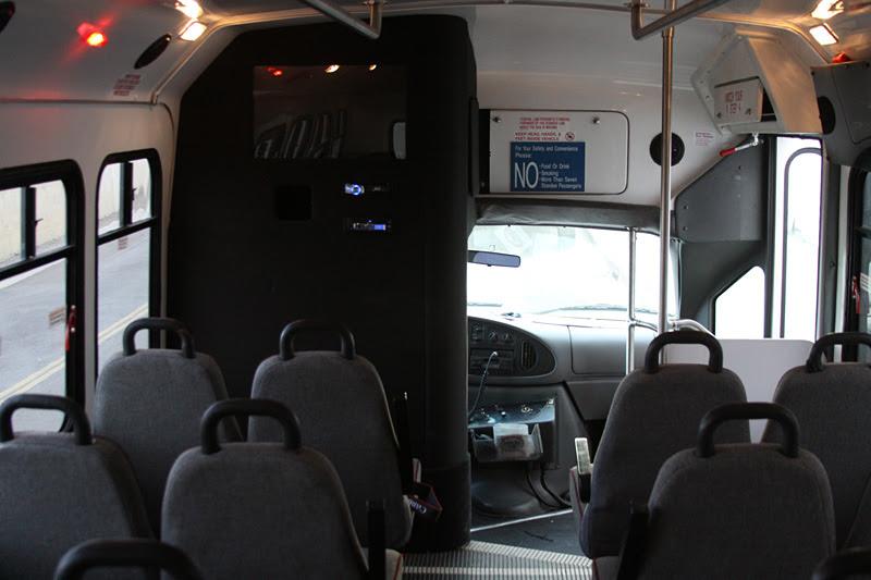 San Francisco 20 Passenger Vip Bus With Wheelchair Lift