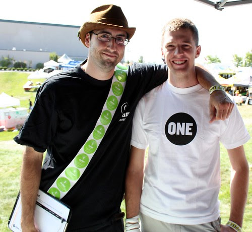 Oxfam and ONE volunteers in Idaho